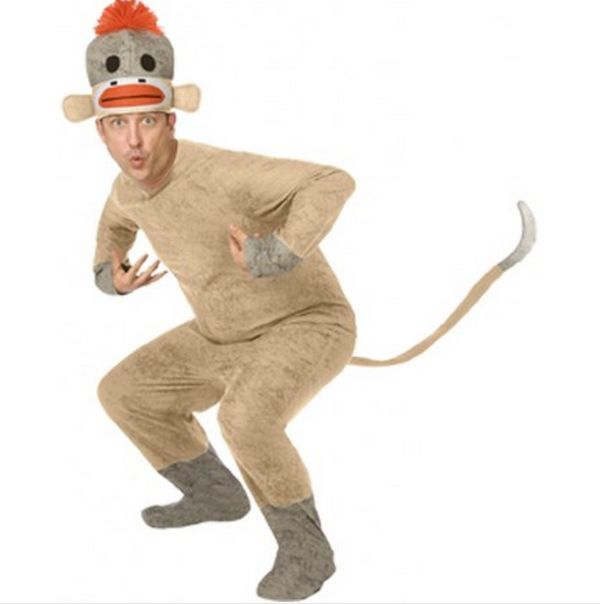Sock Monkey Man Costumes