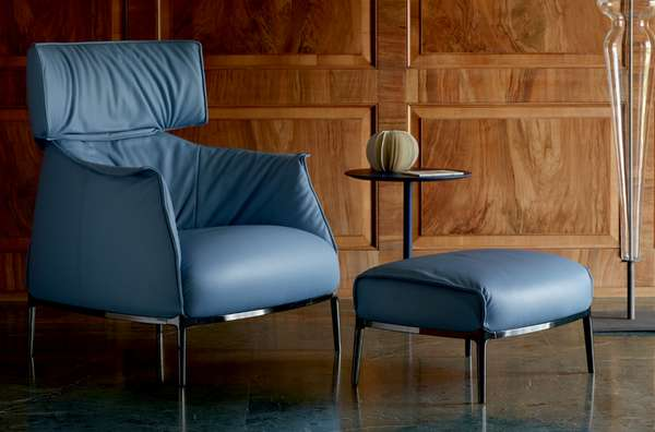 Opulently Plush Perches - The Archibald King Sofa Lounge Chair is ...