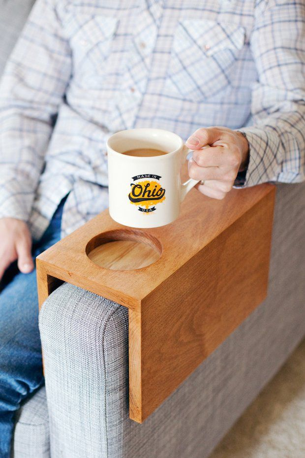 DIY Wooden Armrests