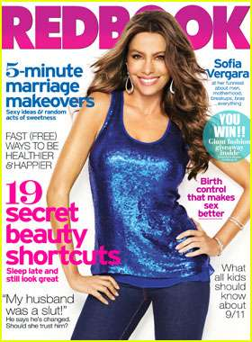 Sofia Vergara Redbook September 2011