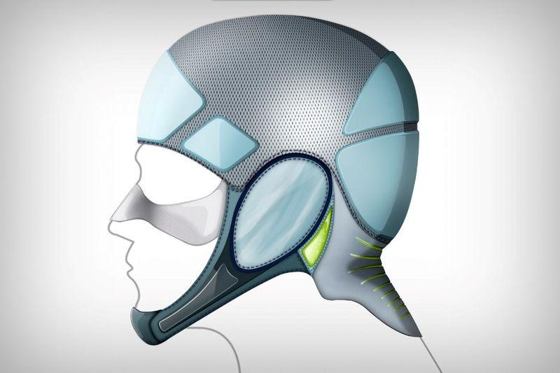 Ergonomic Soft Shell Helmets