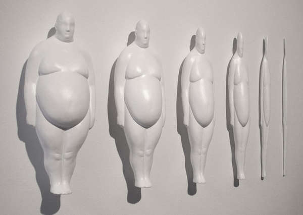 Manipulated Soft Bodied Sculptures