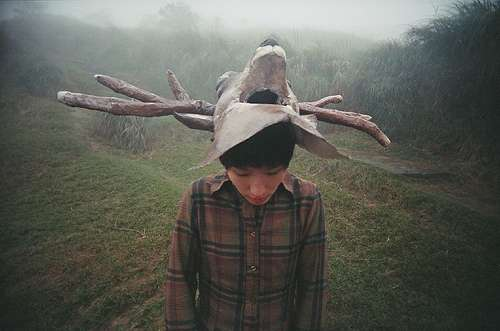Antler Head Gear