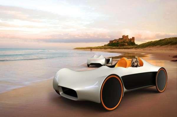 Tent-like Ultralight Cars