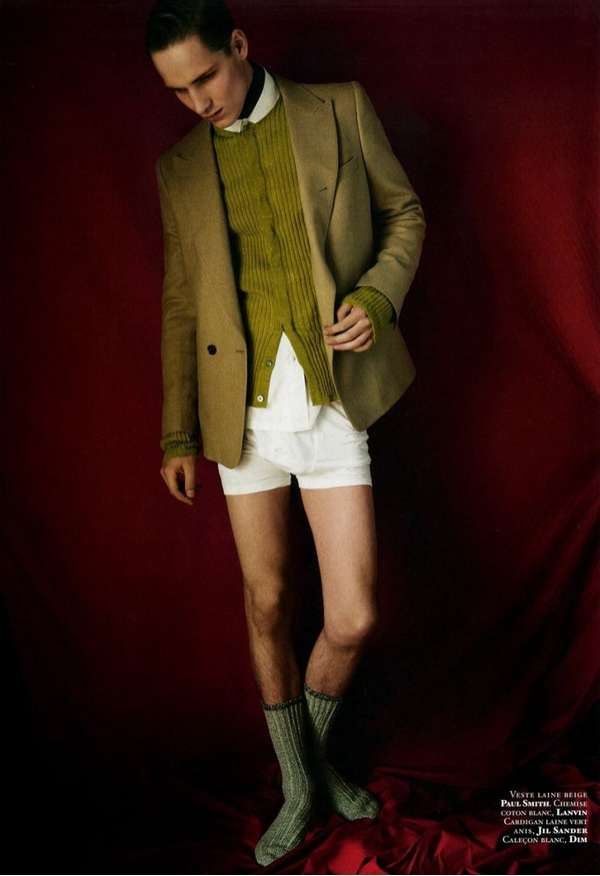 Pantless Posh Fashion Shoots