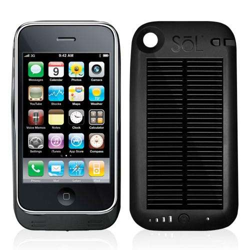 Sol Solar iPhone 4 Battery Case