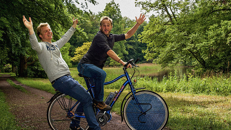 Solar-Powered Electric Bicycles