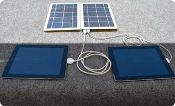 Solar-Powered Multi-Chargers