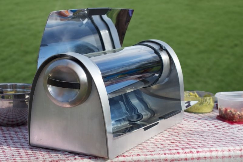 Solar Powered Grill ~ Fuel free cookers solar grill