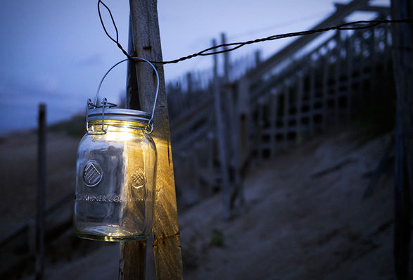 Luminous Mason Jar Lanterns