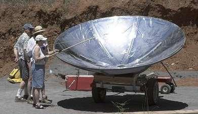 Solar Power Hot Dogs