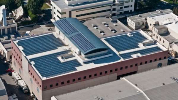 Solar-Powered Movie Studios