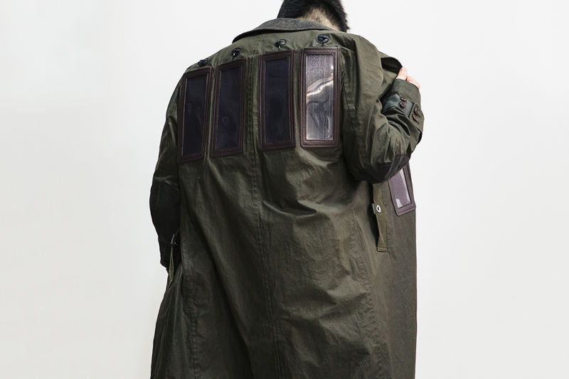 Solar-Powered Charger Coats
