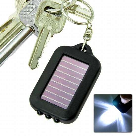 Illuminating Eco Keychains
