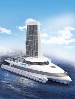 Solar-Powered Hybrid Ferries