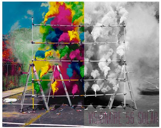 Solar-Powered Magazines: Visionaire Adds Color to Black ...