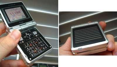 Solar Powered Phone