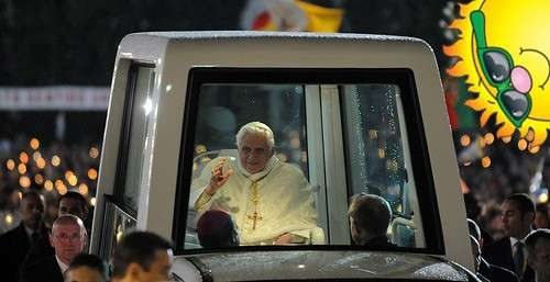 solar powered popemobile