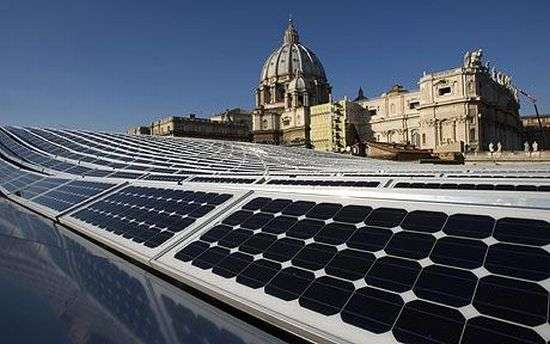 Solar-Powered Vatican