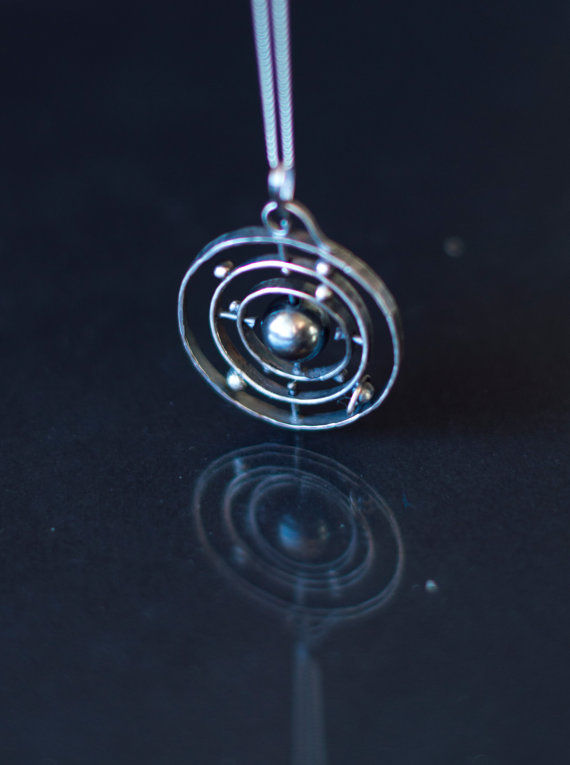 solar system necklaces
