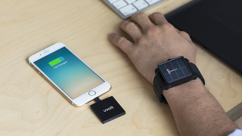 Solar Backup Battery Timepieces