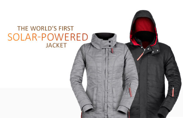 Solar-Powered Outerwear