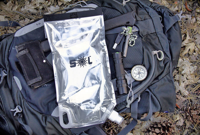 Water-Purifying Bags