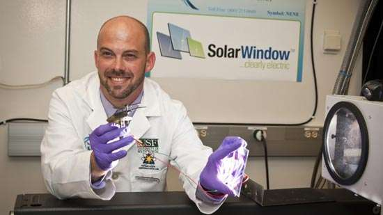 SolarWindow by New Energy Technologies