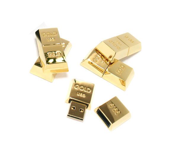 Gilded Storage Gadgets