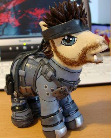 Solid Snake Little Pony