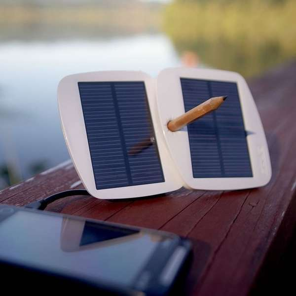 Solar-Powered Gadget Chargers