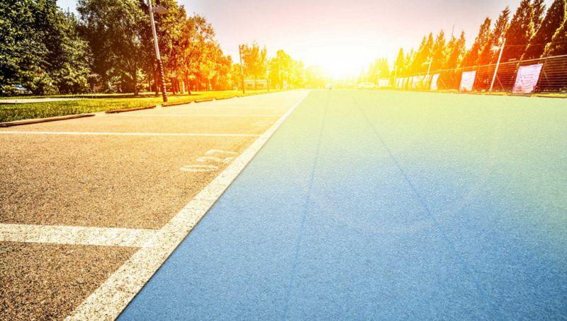 Solar Cell-Embedded Roads