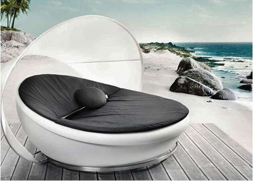 Elliptical Outdoor Loungers