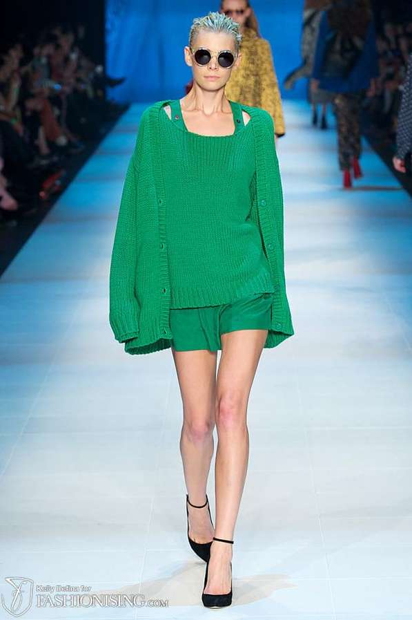 Quirky Color-Blocked Catwalks