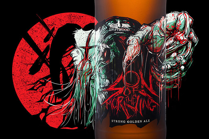 Zombie-Like Beer Bottles