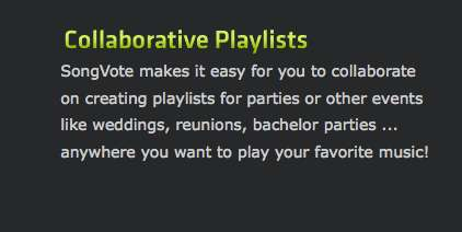 Crowdsourced Party Playlists