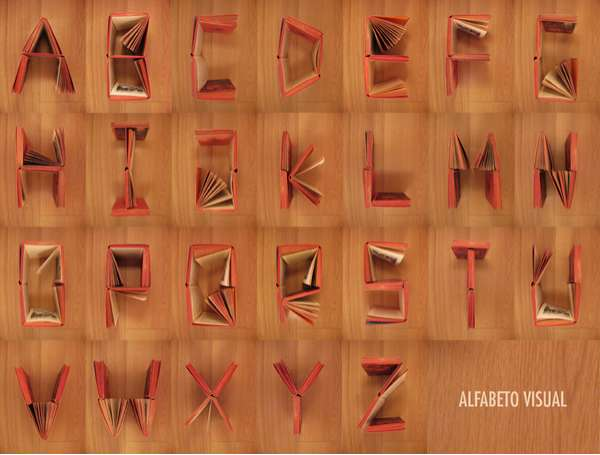 Literary Alphabet Art