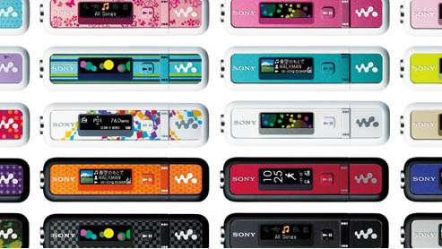 Swappable Walkman Faceplates