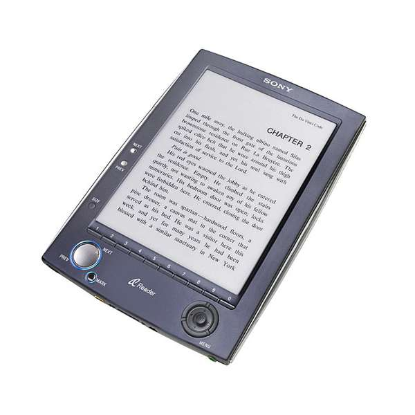 Sony Portable Reader System with Electronic Ink
