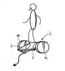 Sony Skateboard Style Segway