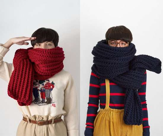 Soffocating Knit Scarves