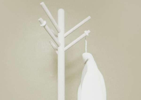 Branch-Like Coat Hooks