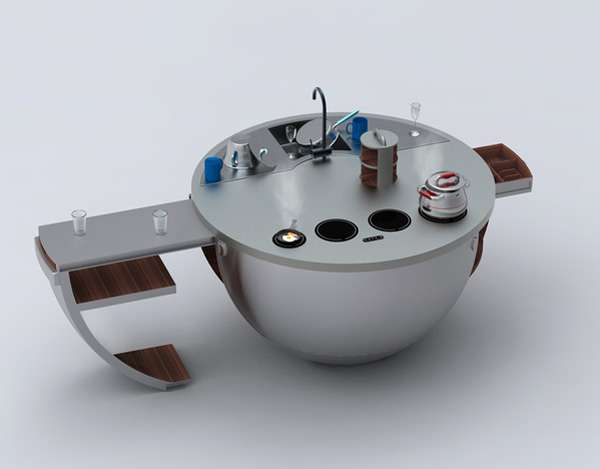 Circular Cooking Stations