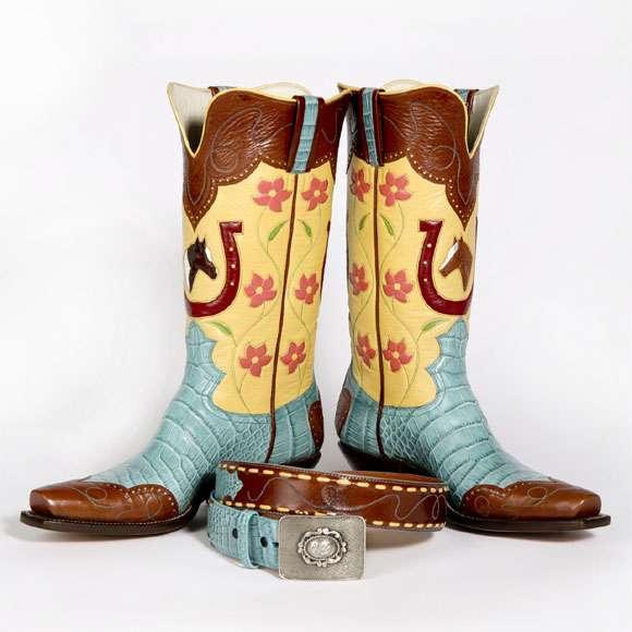 $6,000 Cowboy Boots