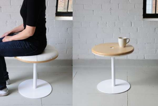 Multifunctional Furniture The Sottomon Stool And Side