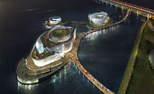 Man-Made Floating Islands