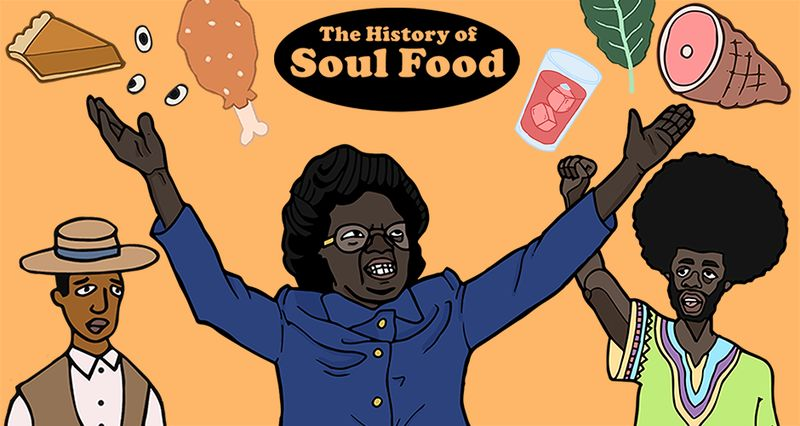 Historical Food Culture Illustrations