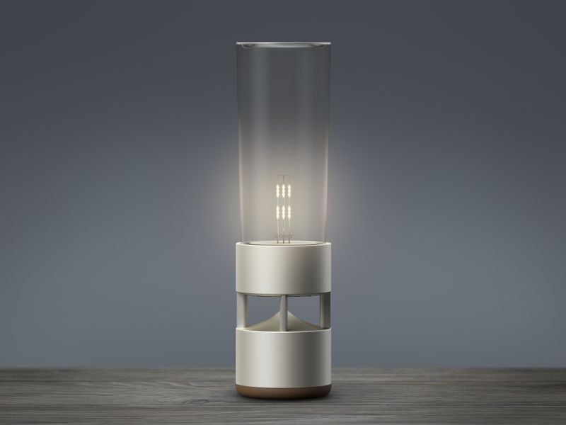 Soothing Bluetooth Lamps Sound Speaker