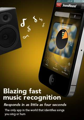 soundhound iphone app