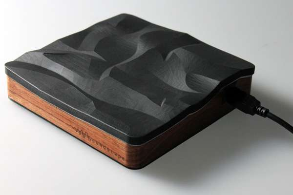 Landscape-Inspired DJ Boxes